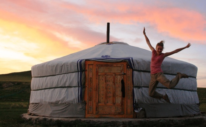 "My favorie ""hotel room"" in Mongolia"