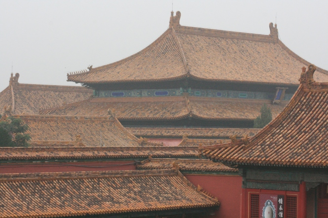 Beijing was interesting but too polluted